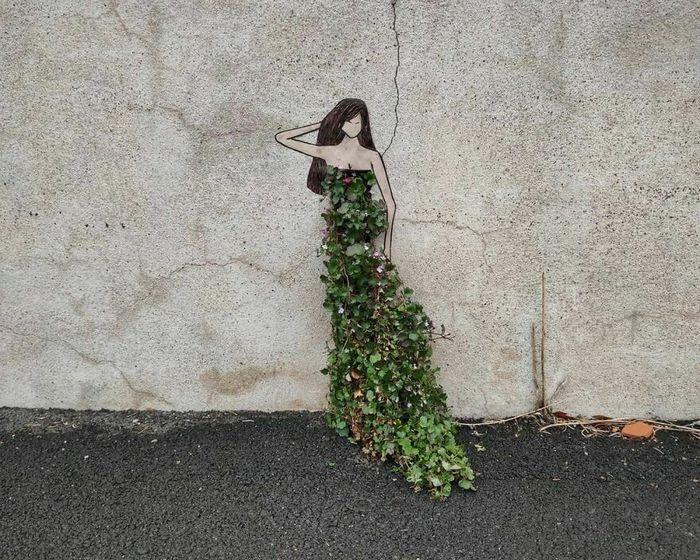 Artista francês cria arte humorística nas ruas de Paris 41
