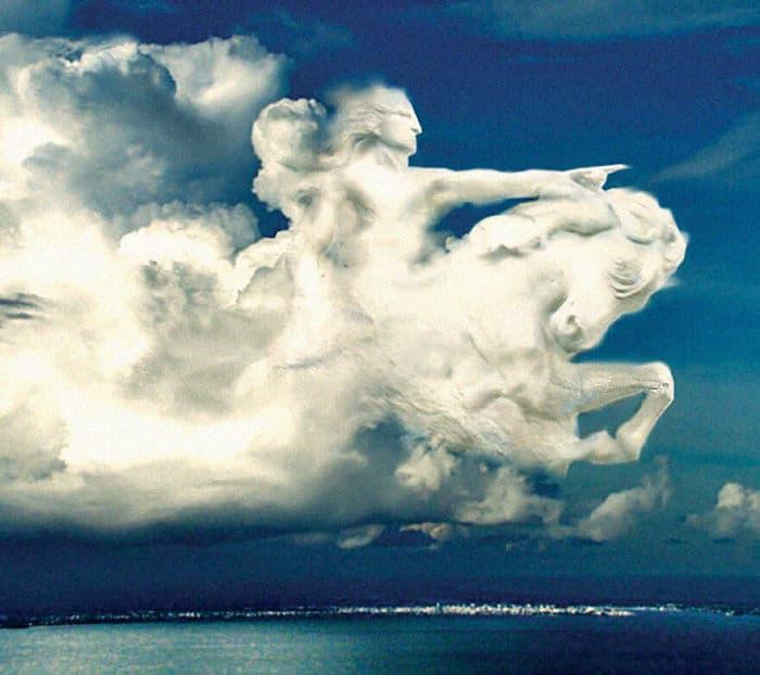 As pessoas foram desafiadas a criar nuvens no Photoshop (42 fotos) 4