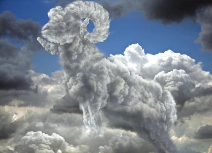 As pessoas foram desafiadas a criar nuvens no Photoshop (42 fotos) 13