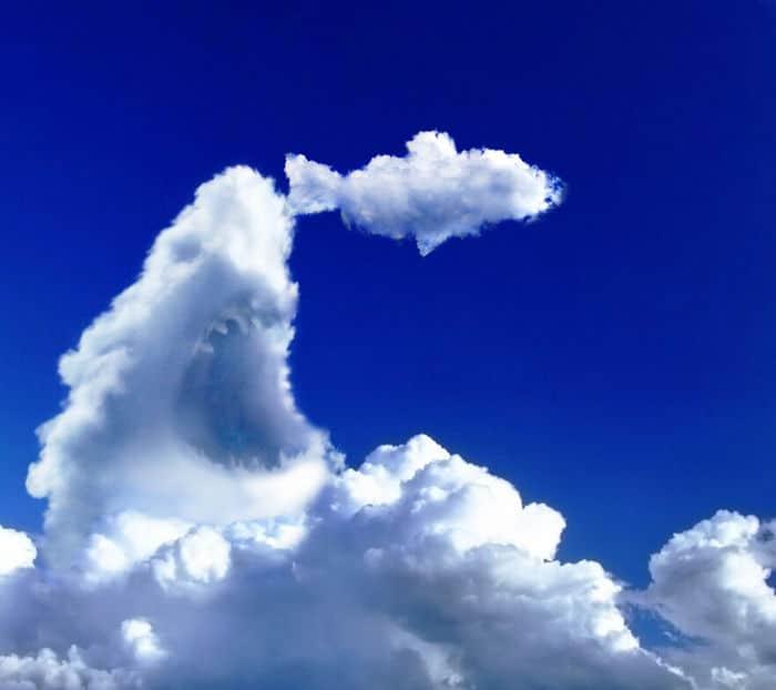 As pessoas foram desafiadas a criar nuvens no Photoshop (42 fotos) 15