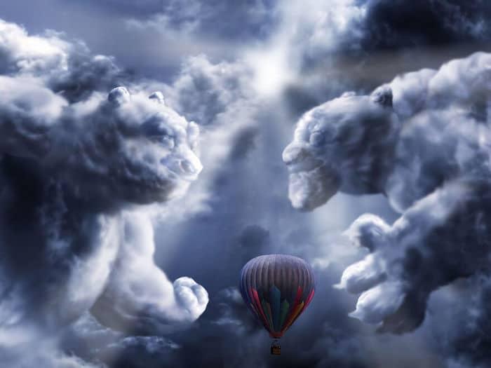 As pessoas foram desafiadas a criar nuvens no Photoshop (42 fotos) 23
