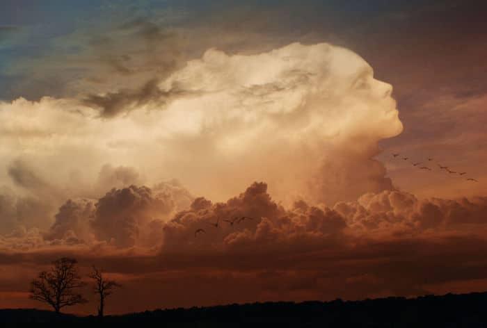 As pessoas foram desafiadas a criar nuvens no Photoshop (42 fotos) 25