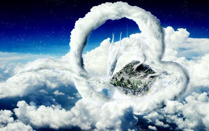 As pessoas foram desafiadas a criar nuvens no Photoshop (42 fotos) 26