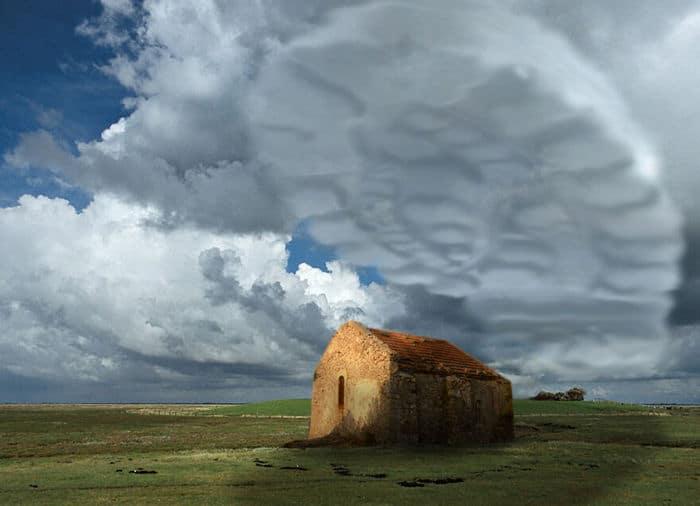 As pessoas foram desafiadas a criar nuvens no Photoshop (42 fotos) 27