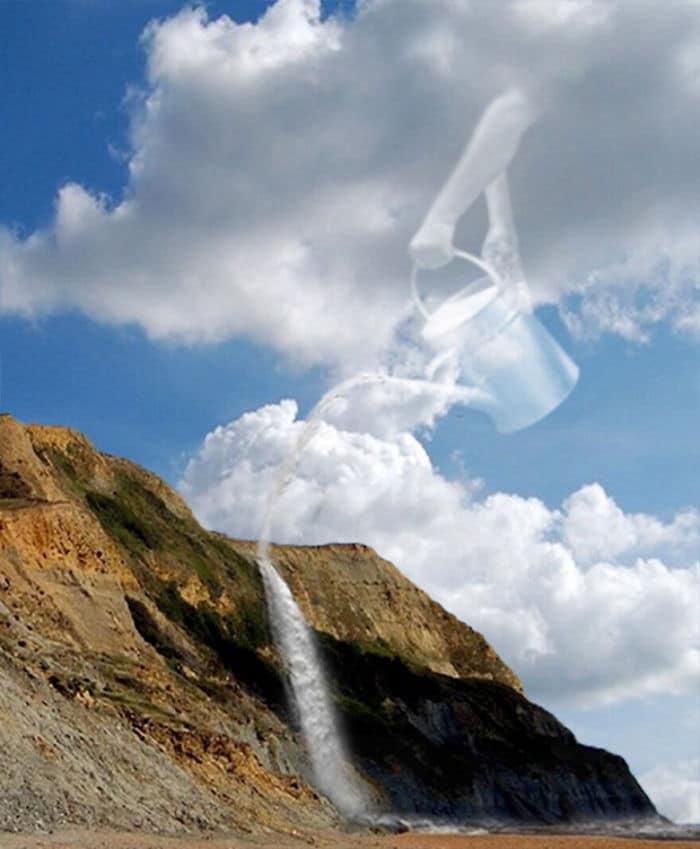 As pessoas foram desafiadas a criar nuvens no Photoshop (42 fotos) 34