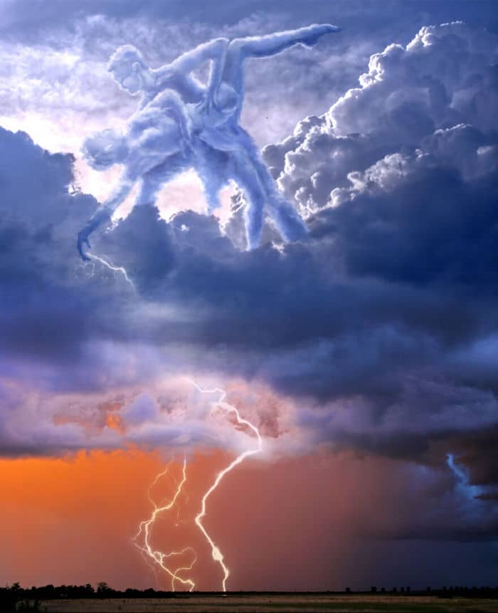 As pessoas foram desafiadas a criar nuvens no Photoshop (42 fotos) 37