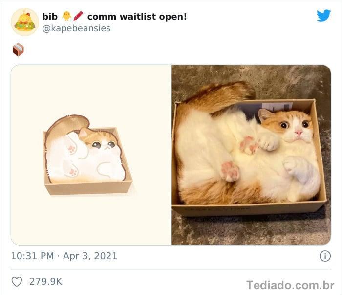 Bib transforma fotos engraçadas de animais em desenhos fofos 31