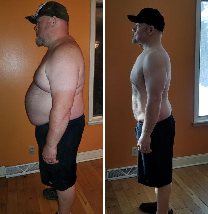 42 exemplos inspiradores de perda de peso que mostram o que a força de vontade e o trabalho árduo podem fazer 13