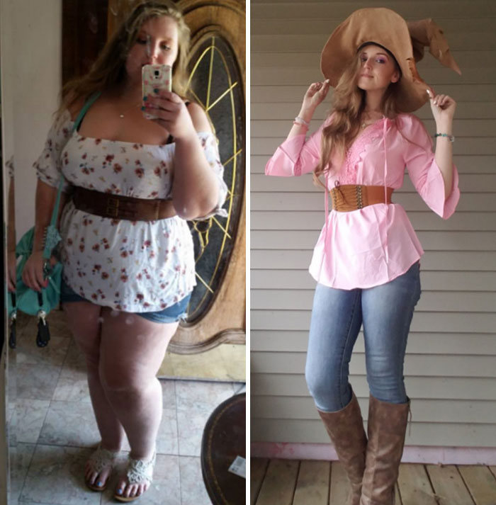 42 exemplos inspiradores de perda de peso que mostram o que a força de vontade e o trabalho árduo podem fazer 33