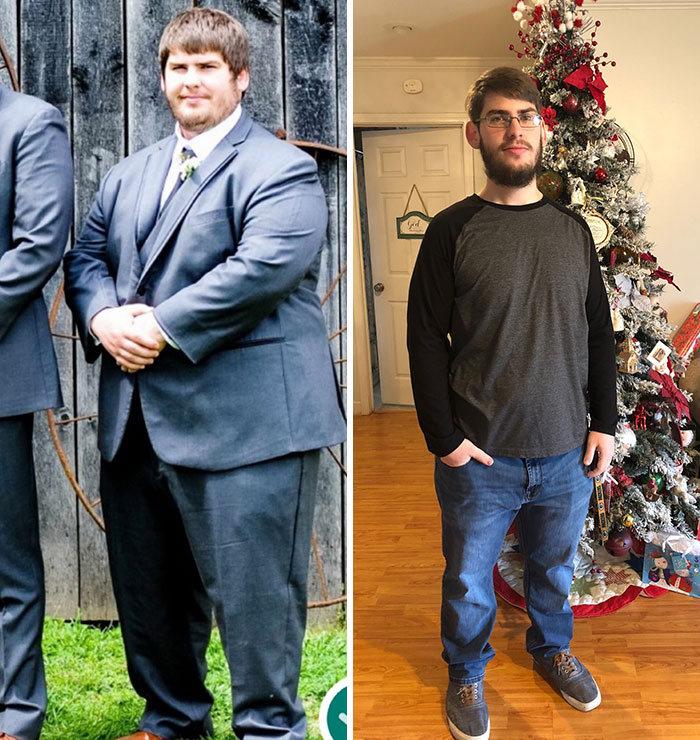 42 exemplos inspiradores de perda de peso que mostram o que a força de vontade e o trabalho árduo podem fazer 34