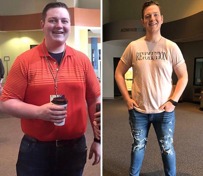 42 exemplos inspiradores de perda de peso que mostram o que a força de vontade e o trabalho árduo podem fazer 43