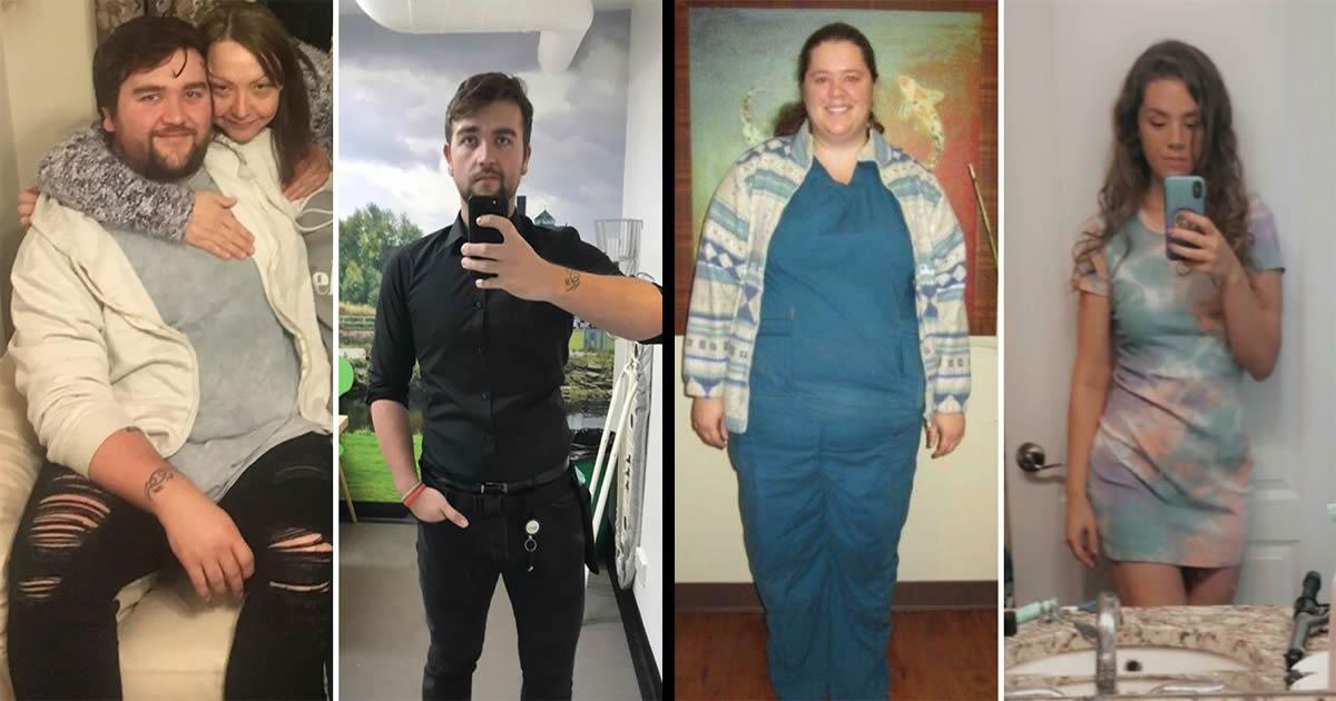 42 exemplos inspiradores de perda de peso que mostram o que a força de vontade e o trabalho árduo podem fazer 22