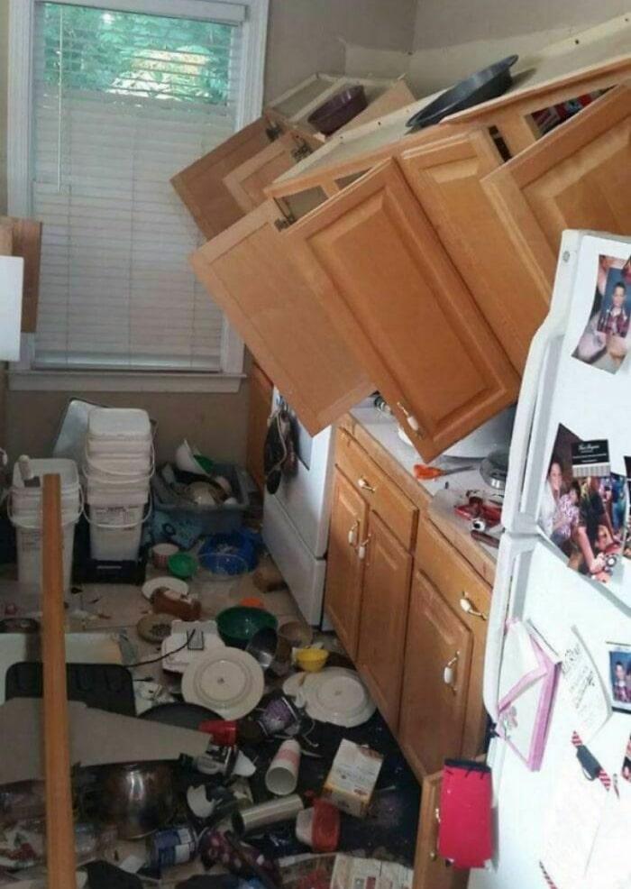 26 fotos de desastres domésticos de alguns dias ruins 28
