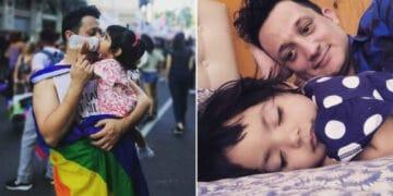 Homem solteiro adota um bebê que foi abandonado em hospital 24