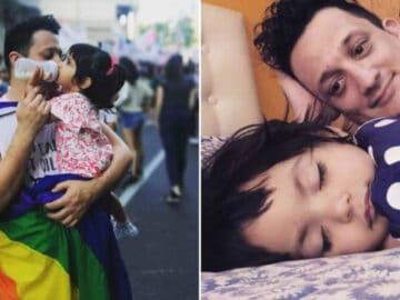 Homem solteiro adota um bebê que foi abandonado em hospital 1