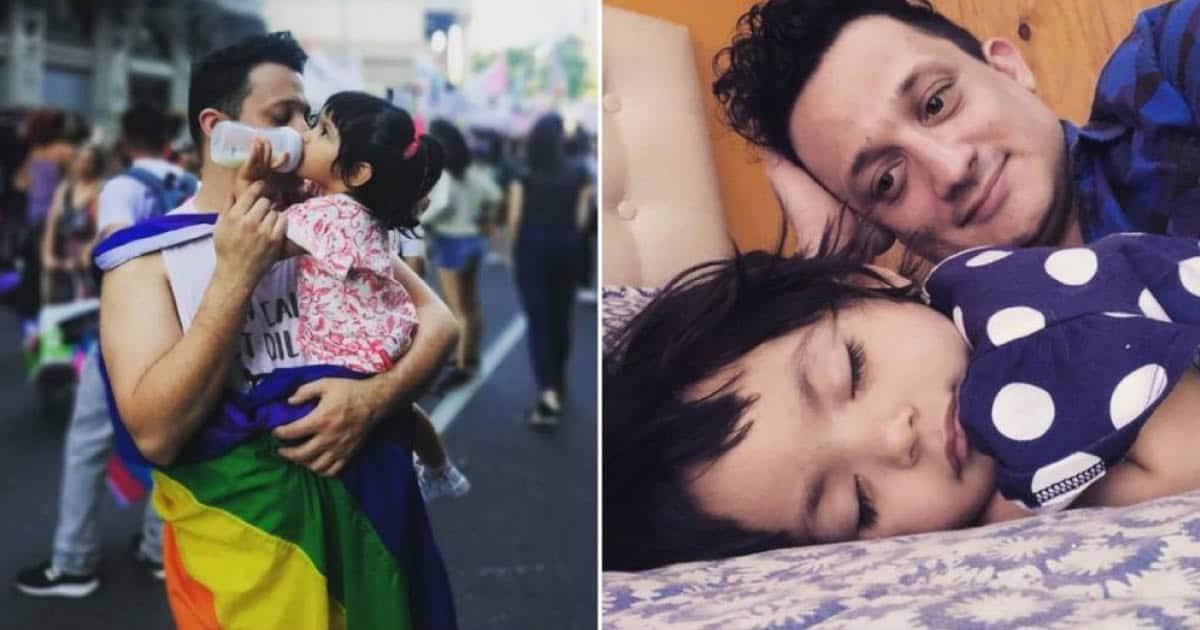 Homem solteiro adota um bebê que foi abandonado em hospital 21