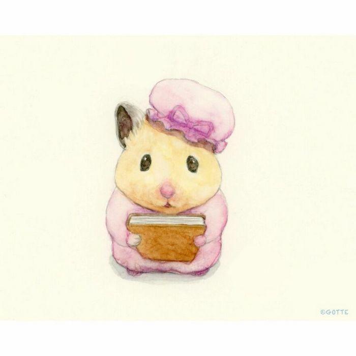 34 Ilustrações saudáveis de um Hamster Chamado Sukeroku 10