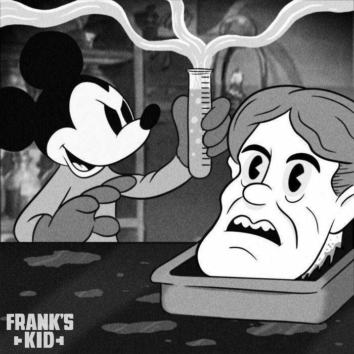 Mickey e Minnie encontram personagens de terror 4