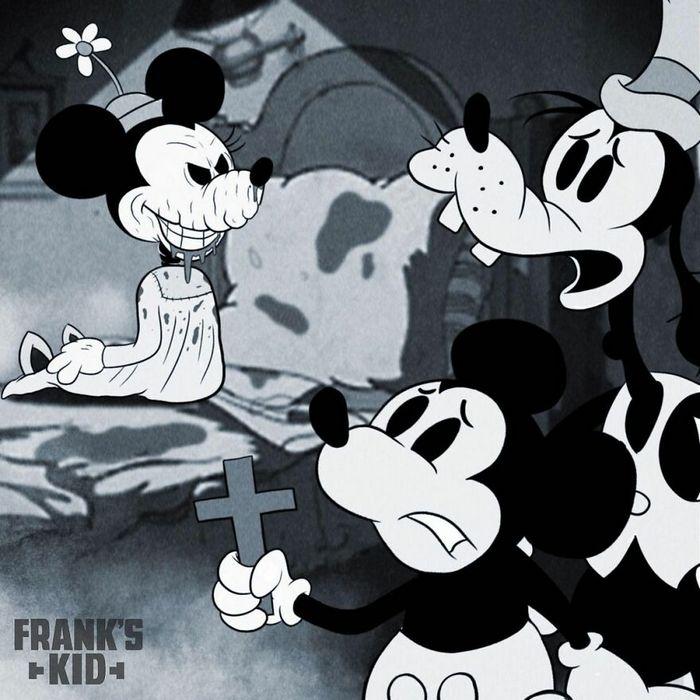 Mickey e Minnie encontram personagens de terror 6