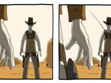 28 quadrinhos absurdos com finais muito sombrios, de Rémi Lascault 46