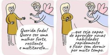 17 quadrinhos de como ser mãe é um desafio 57