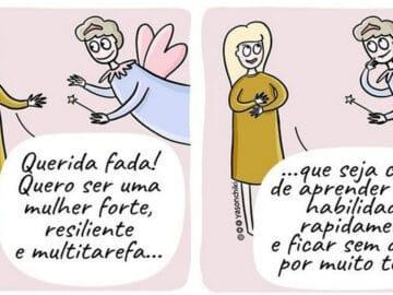 17 quadrinhos de como ser mãe é um desafio 4