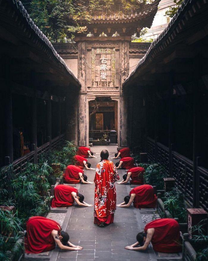 Um fotógrafo captura a beleza hipnotizantes da Ásia 2