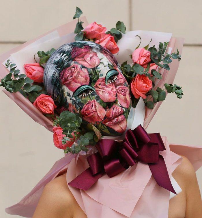 Artista cria ilusões óticas complexas em seu corpo e está bagunçando a mente das pessoas (31 fotos) 10