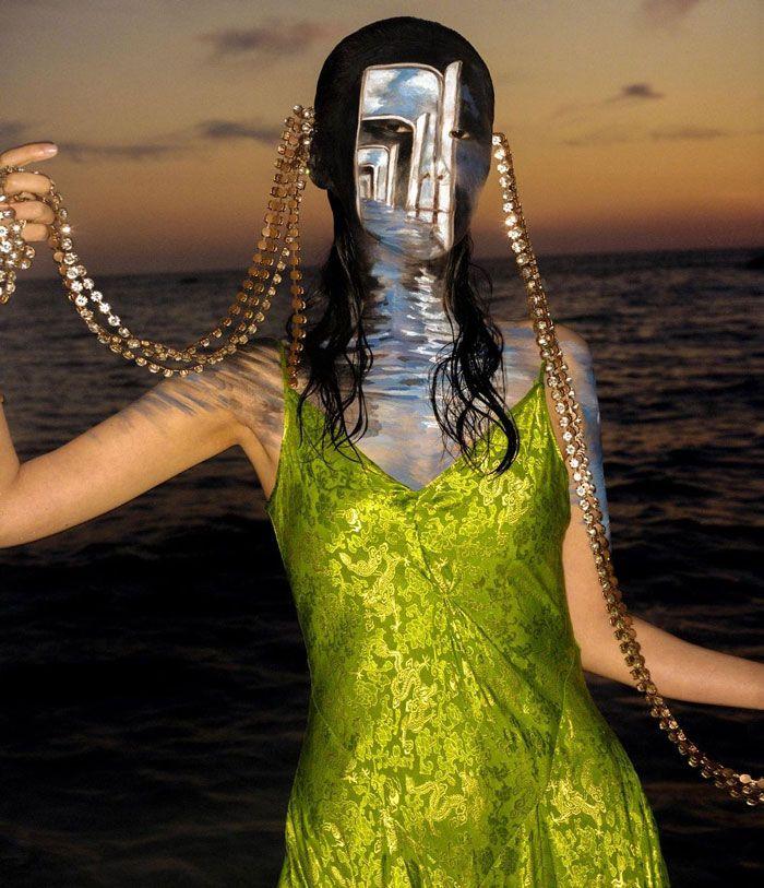 Artista cria ilusões óticas complexas em seu corpo e está bagunçando a mente das pessoas (31 fotos) 14