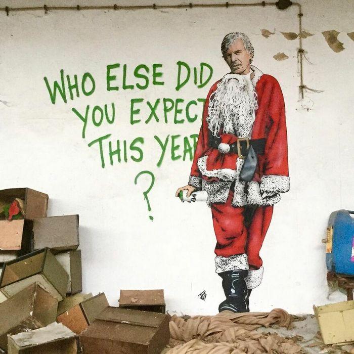 Artista criar grafites que interagem com os arredores (30 fotos) 15