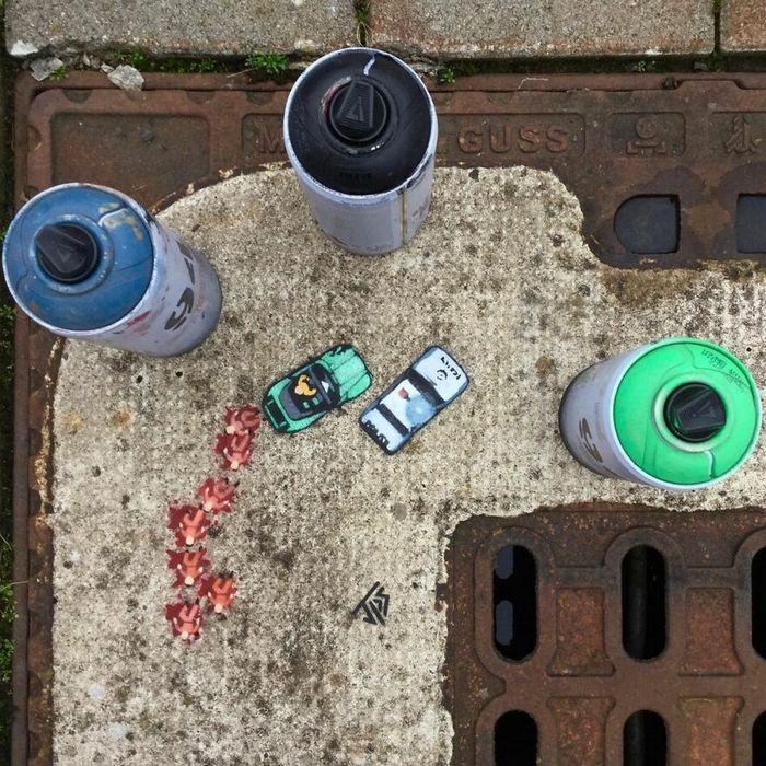 Artista criar grafites que interagem com os arredores (30 fotos) 21