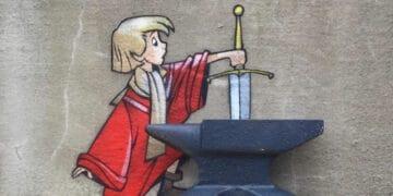 Artista criar grafites que interagem com os arredores (30 fotos) 55