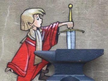 Artista criar grafites que interagem com os arredores (30 fotos) 7