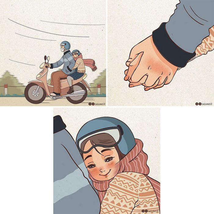Artista desenha quadrinhos legais sobre estar em um relacionamento (39 fotos) 23