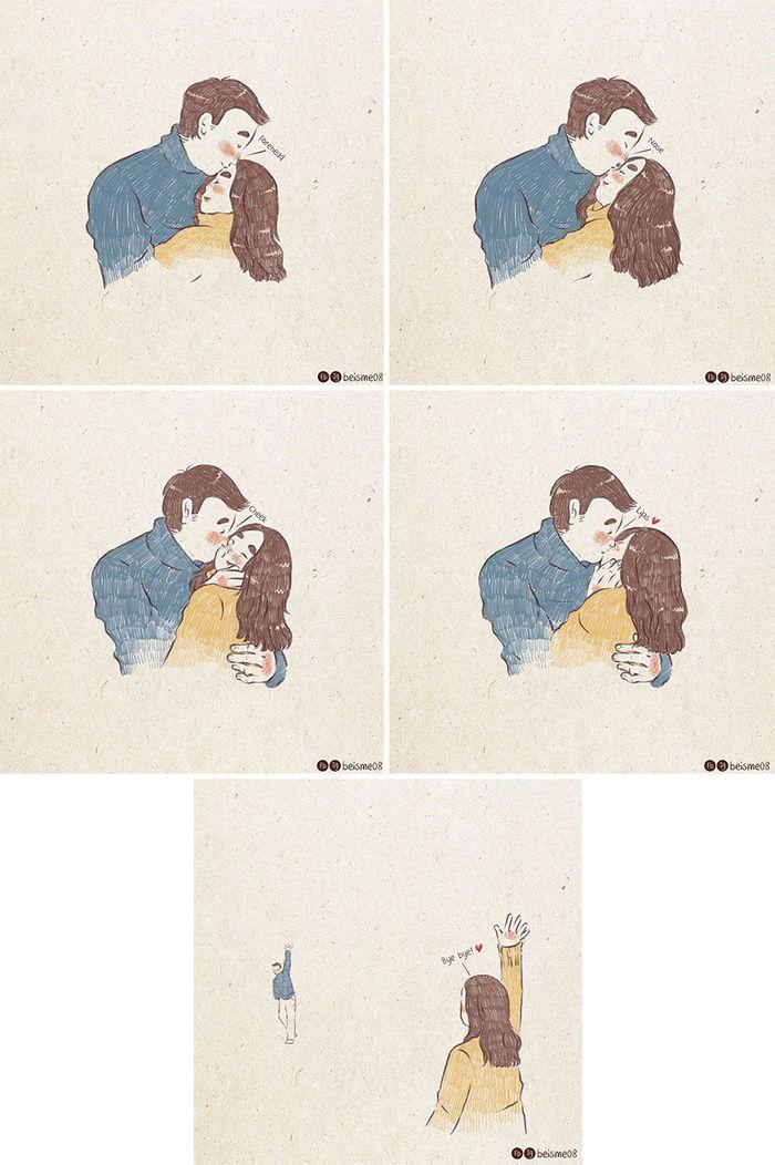 Artista desenha quadrinhos legais sobre estar em um relacionamento (39 fotos) 28