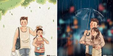 Artista desenha quadrinhos legais sobre estar em um relacionamento (39 fotos) 5
