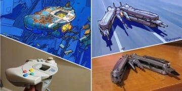 Artista transforma coisas do dia a dia em naves espaciais, e o resultado está fora deste mundo (23 fotos) 13