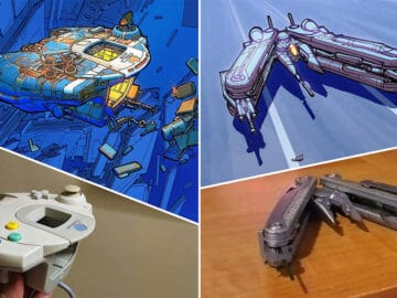 Artista transforma coisas do dia a dia em naves espaciais, e o resultado está fora deste mundo (23 fotos) 3