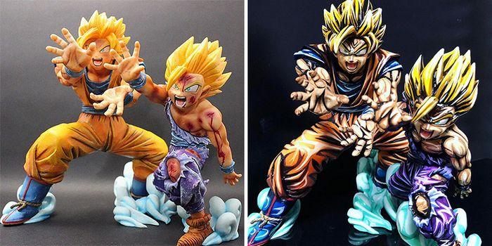 Artista transforma estatuetas em esculturas ultra realistas de personagens de anime (38 fotos) 3