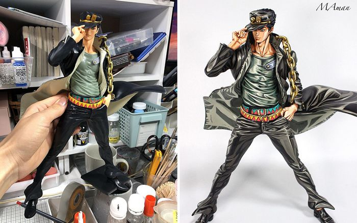 Artista transforma estatuetas em esculturas ultra realistas de personagens de anime (38 fotos) 15