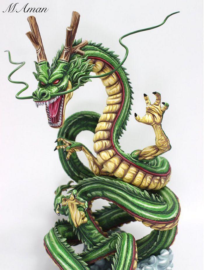 Artista transforma estatuetas em esculturas ultra realistas de personagens de anime (38 fotos) 21