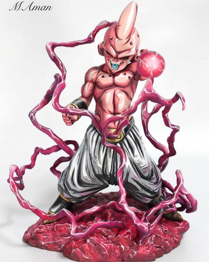 Artista transforma estatuetas em esculturas ultra realistas de personagens de anime (38 fotos) 28