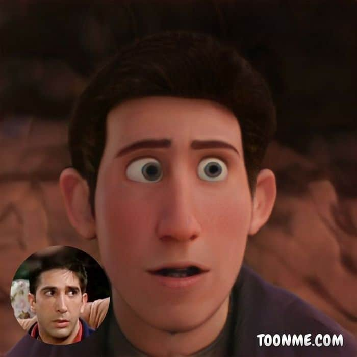 E se os atores de Friends fossem personagens de filme da Disney 4