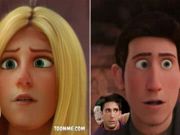 E se os atores de Friends fossem personagens de filme da Disney 26