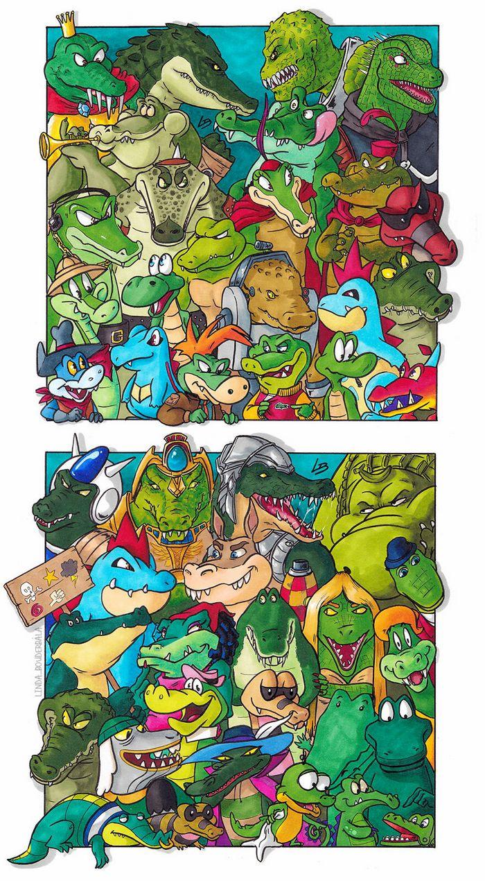 Classifiquei personagens famosos por espécie e aqui estão 11 equipes 10