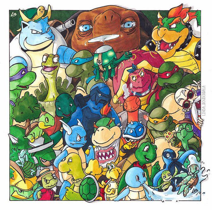 Classifiquei personagens famosos por espécie e aqui estão 11 equipes 11