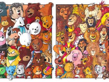 Classifiquei personagens famosos por espécie e aqui estão 11 equipes 6