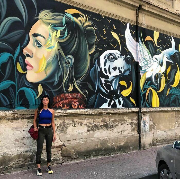 32 edifícios decorados com hipnotizantes murais de vida selvagem 19