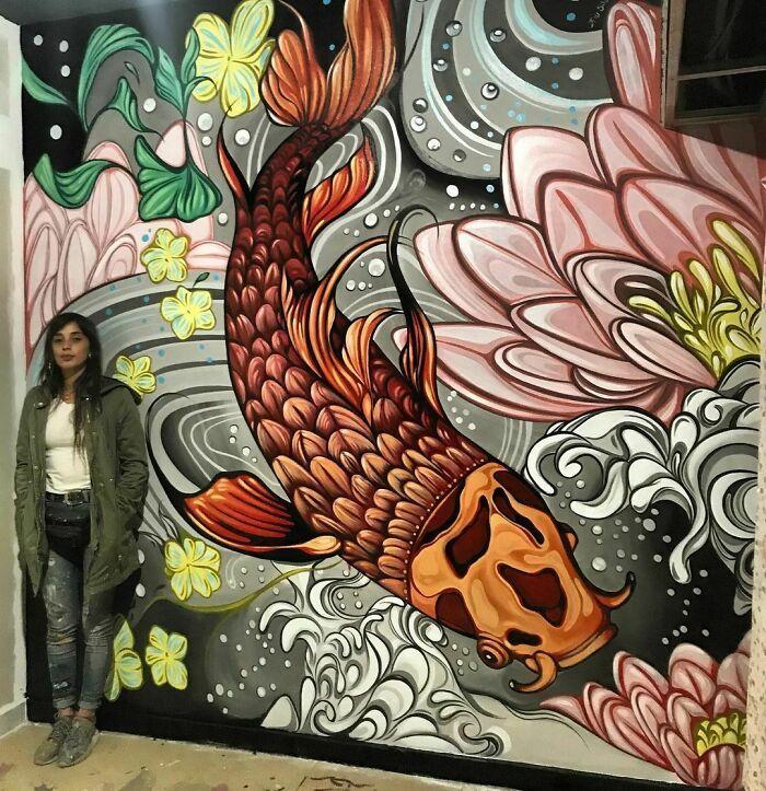 32 edifícios decorados com hipnotizantes murais de vida selvagem 26