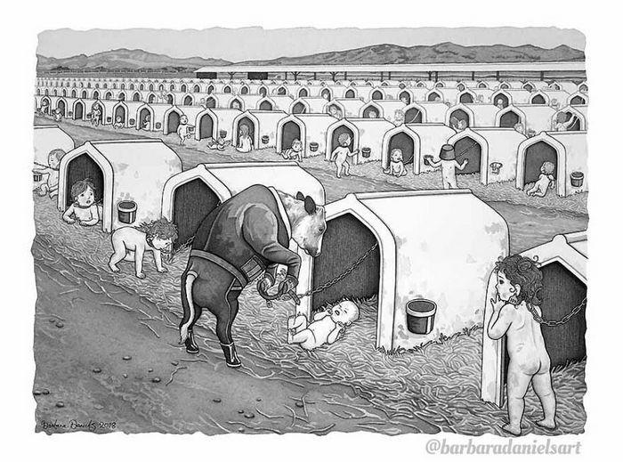 Esta artista critica a maneira como tratamos nosso mundo com suas ilustrações instigantes (40 fotos) 3